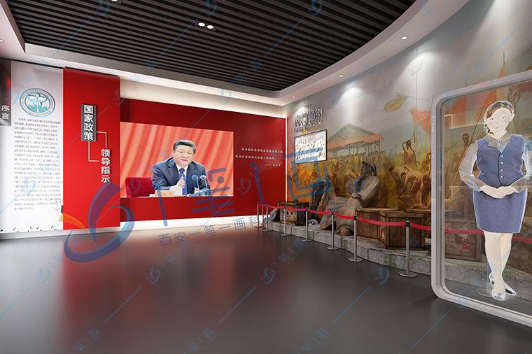 声光电企业展馆设计,高科技互动企业展览馆,多媒体展馆展厅设计的技巧