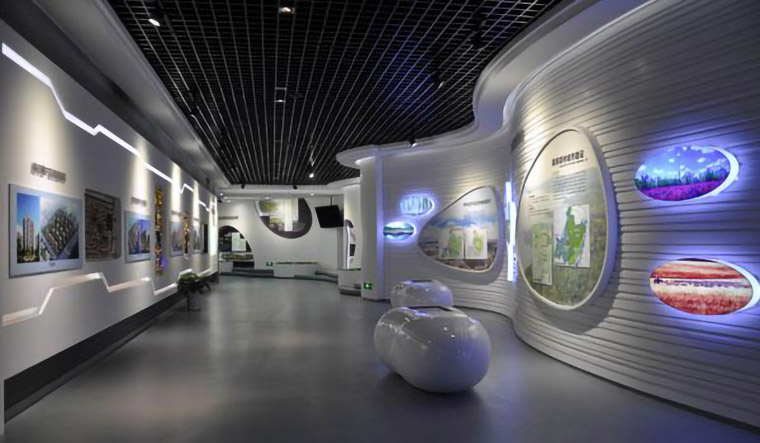 多媒体企业展厅设计-数字化企业展馆施工-企业展厅设计的方法及步骤