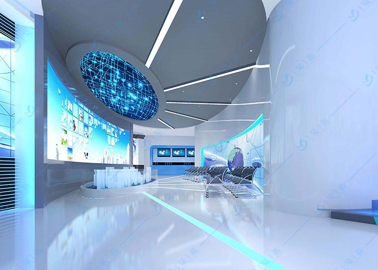 科技展厅设计方案,科技主题展馆展厅设计布局,数字科技展厅设计