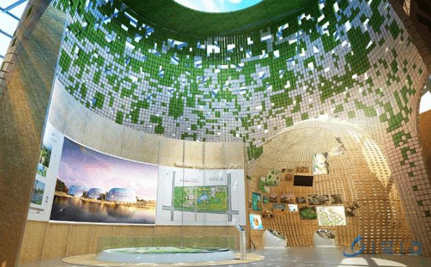 现代农业展厅设计布局和方案策划