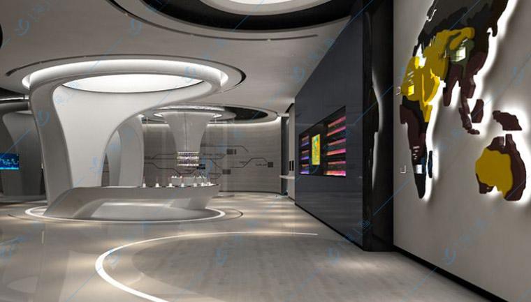 生物科技展厅,生物展厅设计公司
