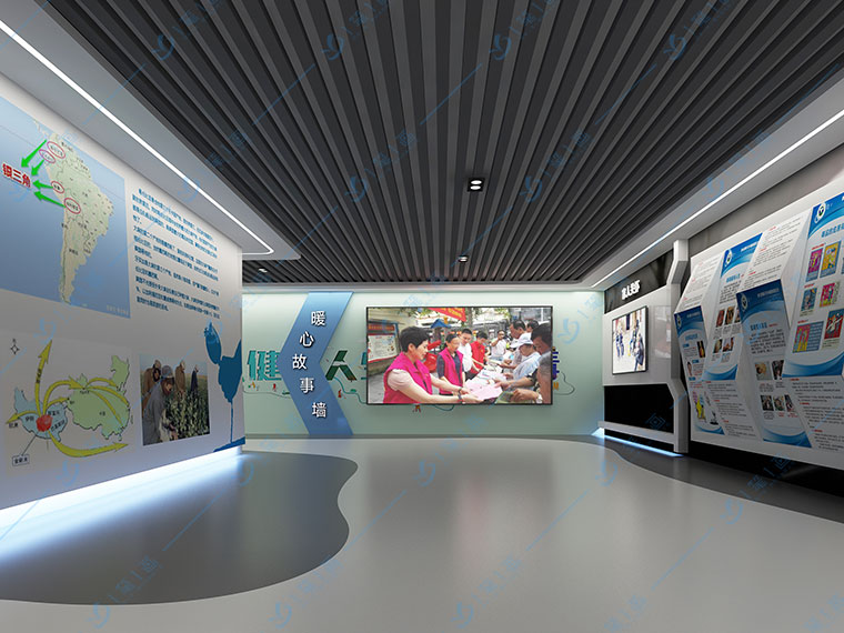 青少年法制教育基地解决方案-未成年法治教育展厅项目