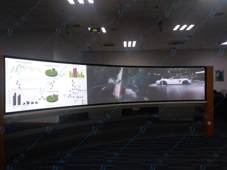 现代数字化展厅、高科技智能展厅大屏幕互动软件