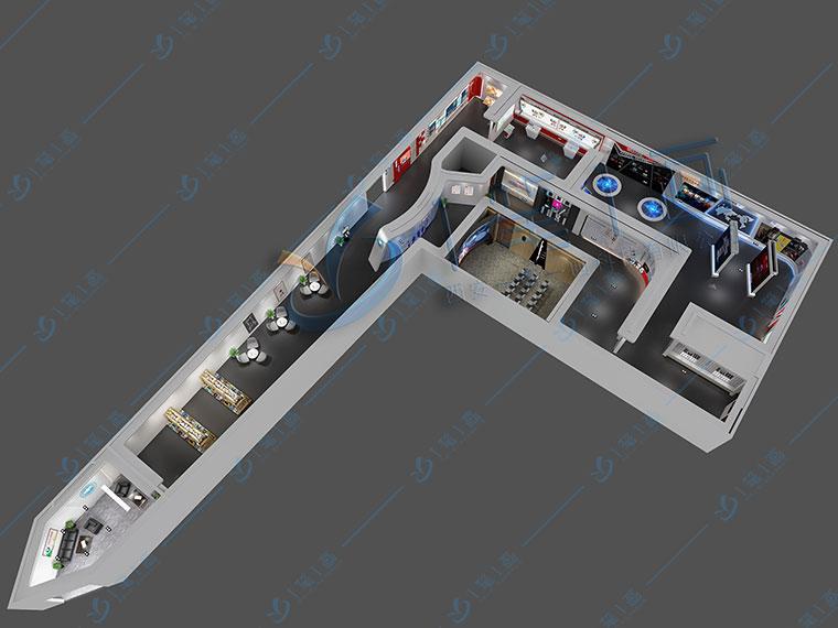 展厅空间设计,展厅色彩设计