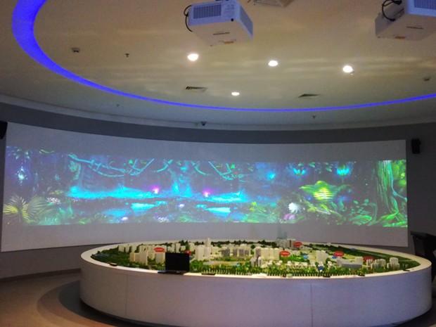 设计企业数字多媒体展馆