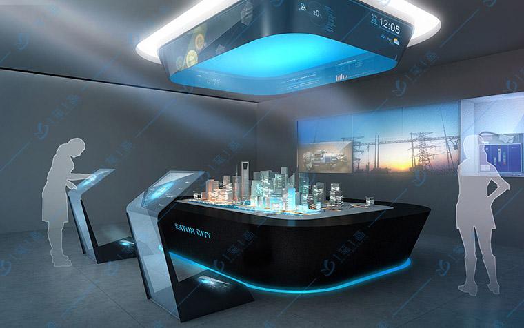 智能化展览馆设计-数字化企业展示厅设计