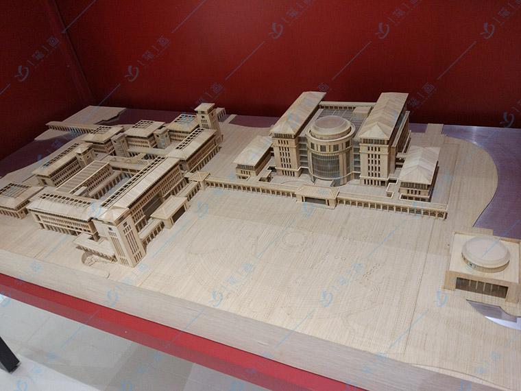 企业展厅中式设计留白理念-一笔一画科技
