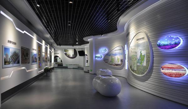 如何让企业展厅设计高端大气-一笔一画科技