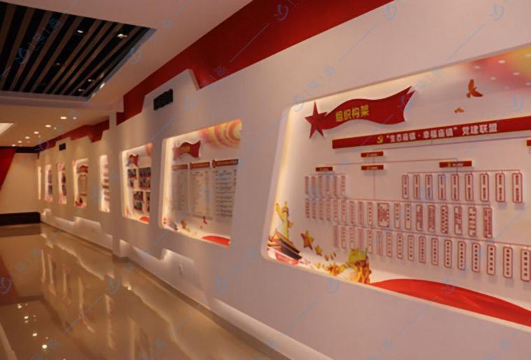 党建展厅设计,专业设计公司-一笔一画科技