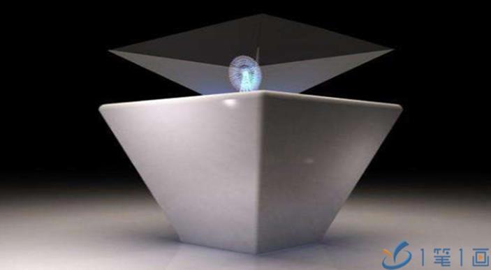 多媒体展厅展馆全息互动投影设备-一笔一画科技