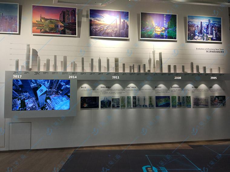 数字多媒体展馆设计中滑屏互动应用
