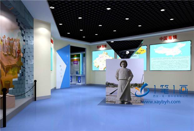 多媒体禁毒展厅方案策划,禁毒展厅电子互动设备方案