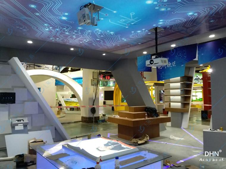 展厅互动设备-互动投影都有哪些作用呢?