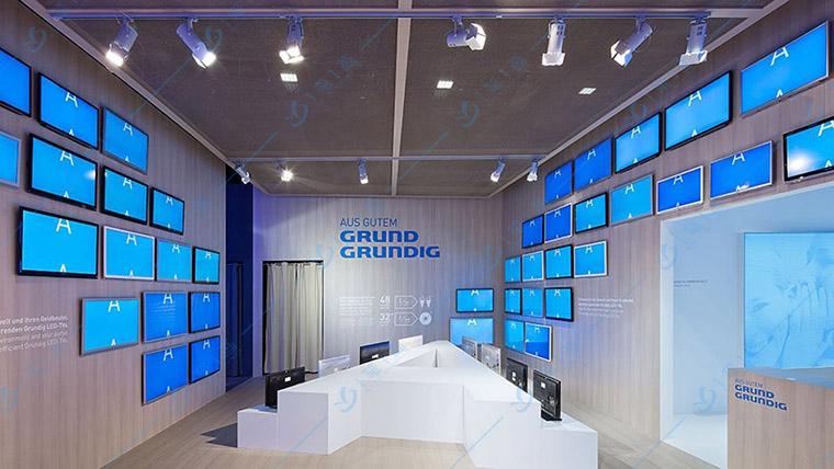 一笔一画多媒体科技馆展厅设计多媒体设备
