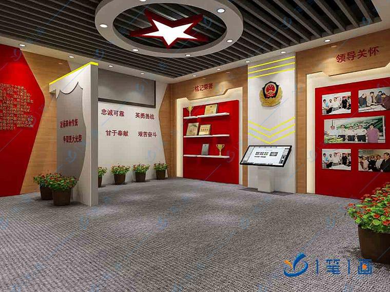 一笔一画禁毒展览馆设计方案、多媒体设备制作、展厅建设一条龙服务公司