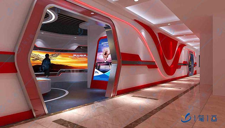 党建展厅策划,智慧党建展厅数字化设备+信息化+互动科技解决方案