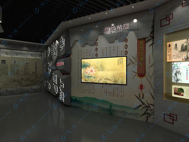 廉政反腐教育基地规划方案-多媒体廉政展厅设计公司